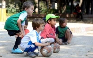 Fútbol presencial para niños y niñas de 3 a 8 años