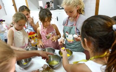 Cocina presencial para niños y niñas de 6 a 10 años