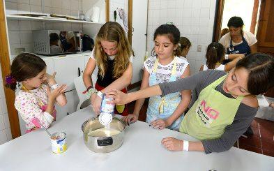 Cocina en línea para niños y niñas de 6 a 10 años