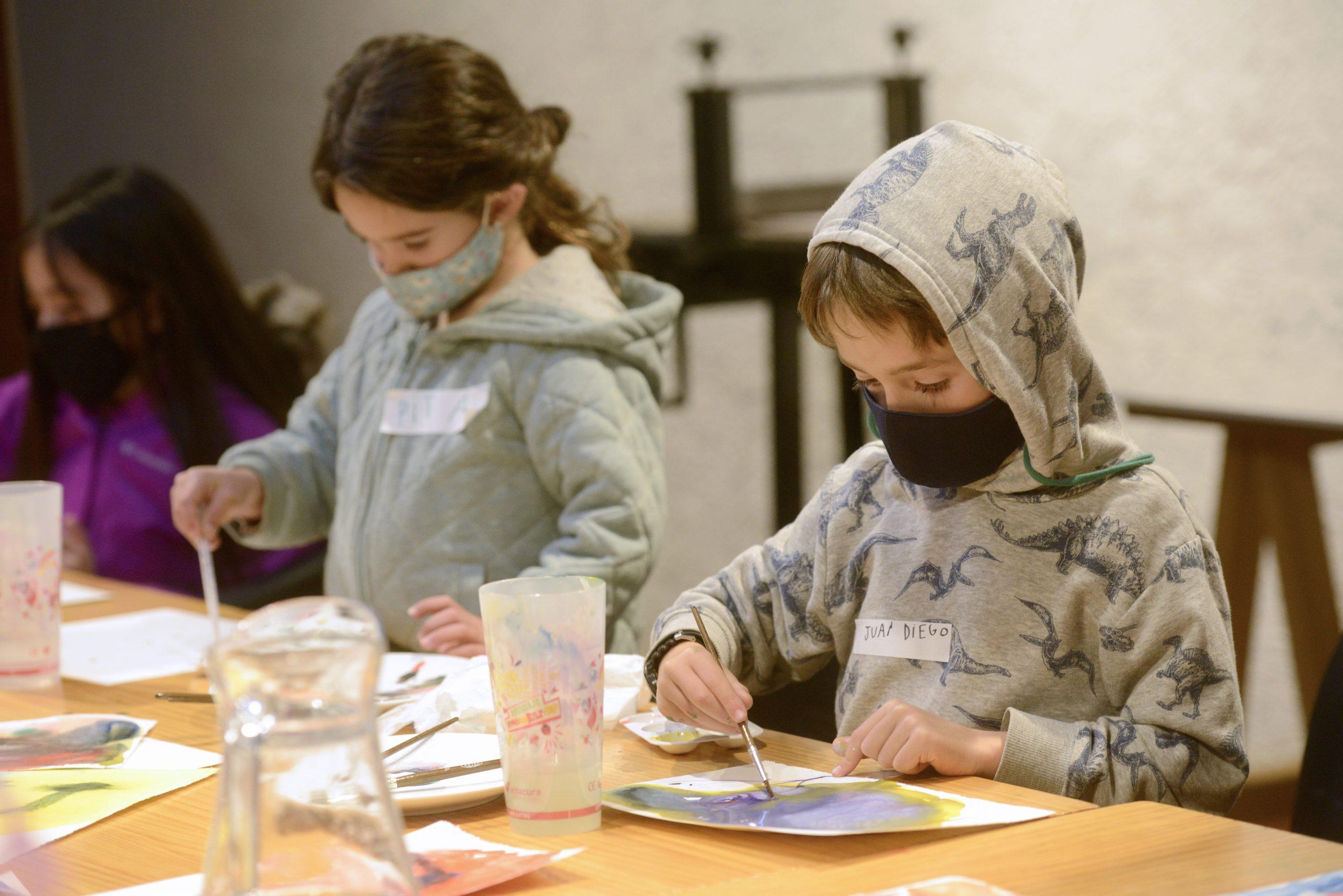 Curso de Acuarela Básico y Experimental para niños de 8 a 16 años
