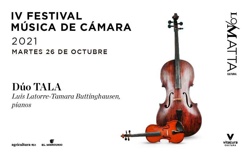 IV Festival Música de Cámara: Piano a cuatro manos